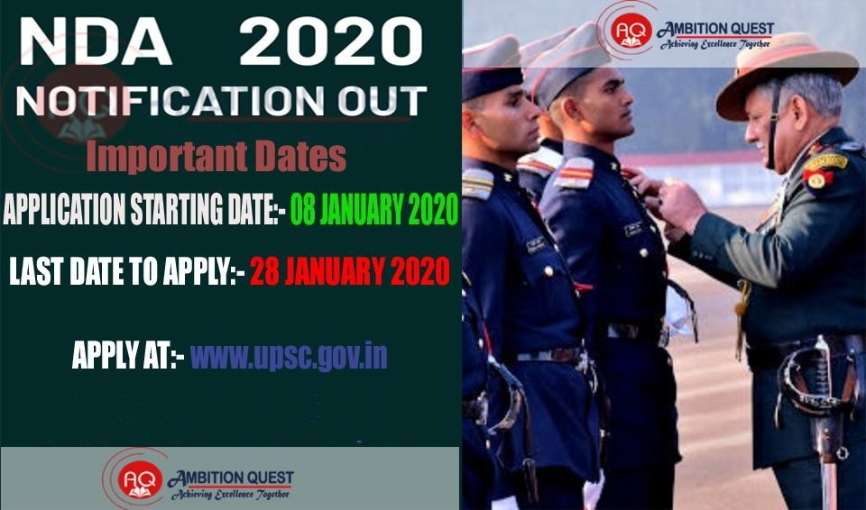 nda notification 2020